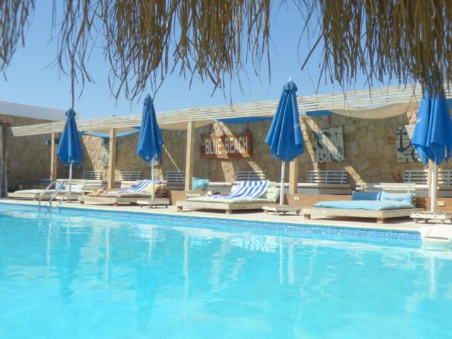 Beach Pool The Boutique Hotel Hurghada Marina Blue