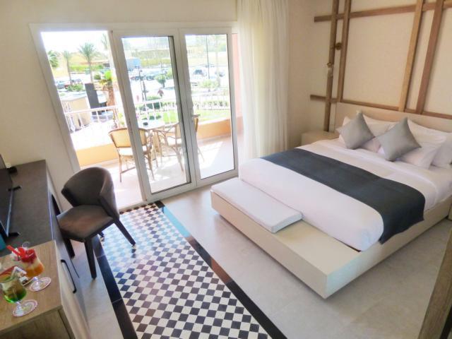 Boutique Hotel Hurghada Marina Superior room king bed best new